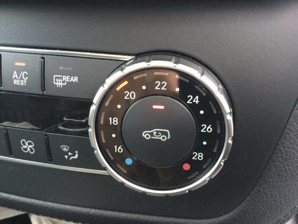 エアコン内気循環設定を固定
