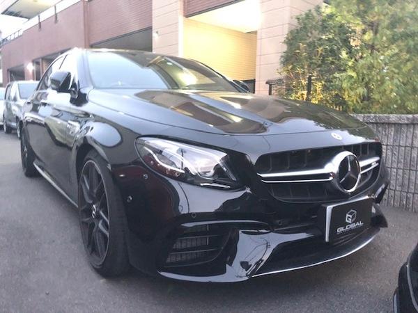 メルセデスベンツ W213 E63S AMG 買取入庫!!(#^^#)
