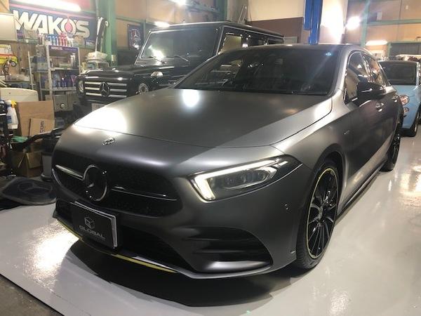 Newデモカー W177 A180 edition1designoマウンテングレーマグノ!!(#^^#)