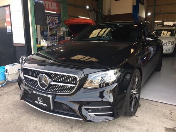 W213 E43 テレビキャンセラー取付!Mercedes Me Connect対応!!(^^♪