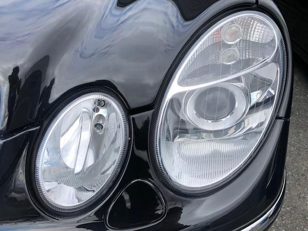 メルセデスベンツ S211 Eクラスワゴン 車検整備&ヘッドライトレンズ交換!!(*´∀`*)