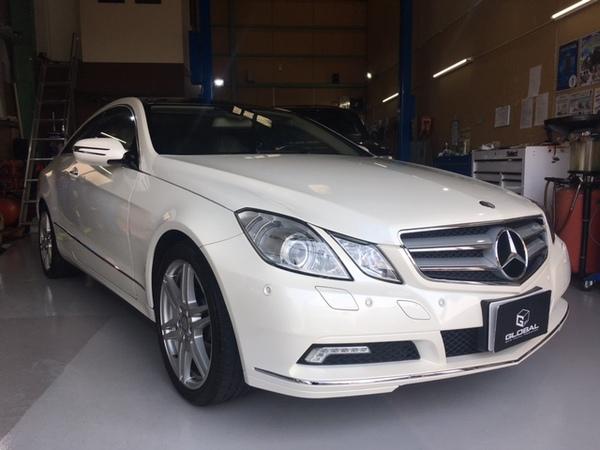 メルセデスベンツ C207 E350 coupe luxuryPKG ご納車!!(#^^#)