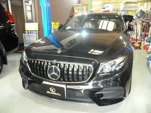 メルセデスベンツ S213 Eワゴン カーボンリップスポイラー・AMGステアリングカバー・IWCウォッチ取付!!(*´▽`*)