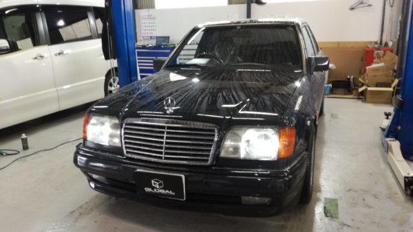 メルセデスベンツ W124 E320 車検!!(^^♪