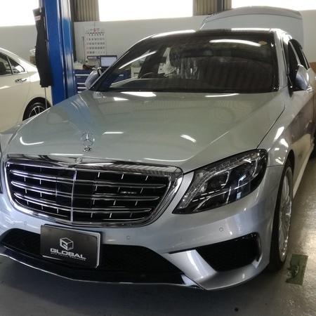メルセデスベンツ W222 S400H 車検整備!!(#^^#)